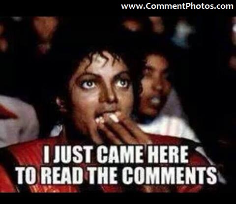 I Just Came Here To Read The Comments - Michael Jackson Eating Popcorn - Thriller Theatre