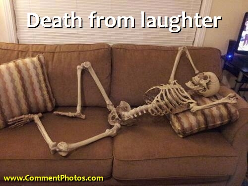 Death From Laughter - Skeletor LOL
