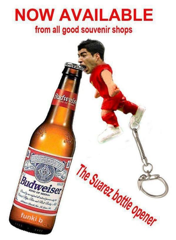 Suarez Bottle Opener - Now Available in All Souvenir Shops
