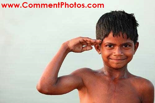 Salute You for Awesomeness - Indian Kid