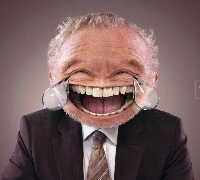 Crying Smiley with Human Face Photoshopped - CommentPhotos ...
