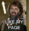 Like My Page - Bin Laden Harry Potter Face