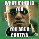 What If I Told You You Are A Chutiya - Matrix Morpheus