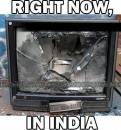 Right Now In India - TV Broken due to anger