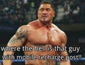 Where the hell is that guy with Mobile Recharge Post - WWE