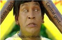 State Government and Central Government Beats - Funny Vadivelu in Pokkiri Hit