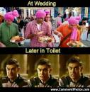 At Wedding and Later In Toilet - 3 Idiots - Amir Khan, Madhavan