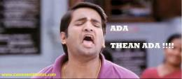 Ada Theanada - Santhanam Funny shocking reaction -
