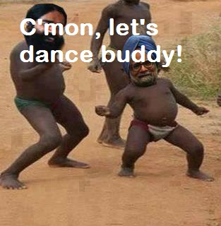 Cmon Lets Dance Buddy