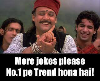 Mere Jokes Please No 1 Pe Trend Hona Hai - Alok Nath trolls