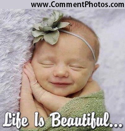 Life Is Beautiful - Cute NewBorn Baby Sleeping