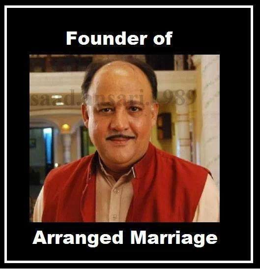 Founder Of Arranged Marriage - Alok Nath trolls