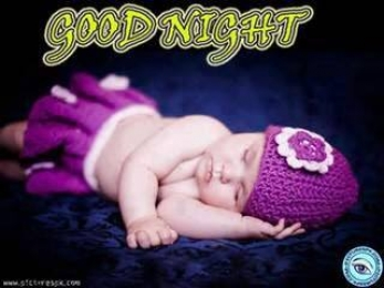 Good Night - Cute Newborn Baby Sleeping