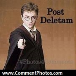 Post Deletam - Harry Potter - Delete Post Magic Words