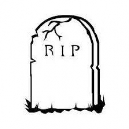 RIP - Rest In Peace - Death. Die. Funeral. Demise