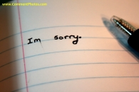 Im Sorry in Note Book