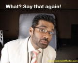 What Say That Again - Sunil Shetty Looking Funny
