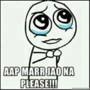 Aap Mar Jao Na Please - Troll face Crying