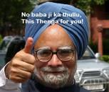 No Baba Ji Ka Thullu. This Thenga For You - Manmohan Singh