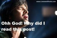 Ohh God Why Did I Read This Post - Himesh Reshamiya