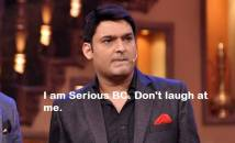 I am Serios BC. Dont laugh at me - Kapil Sharma Angry