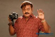 Vijayakanth with SLR Camera - Photography