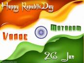 Happy Replic Day - Vande Mataram - 26 January Indian