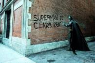 Clark Kent is Superman - Wall painting by batman Bruce wayne Christian Bale