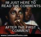 I Just Came Here To Read The Comments After the First Comment - Michael Jackson Eating Popcorn - MJ in Thriller Theatre